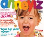 Anneyiz.Biz dergisinin Ağustos sayısında tanıdık bir yüz…