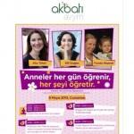 9 Mayıs Cumartesi günü Akbatı AVM'de anneliğin tozpembe olmayan yanlarını…