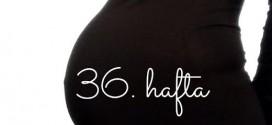 Nazlı'nın Gebelik Günlüğü, 36. hafta