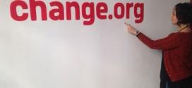 Bu kez çağrı, Change.org'un kendisi için…